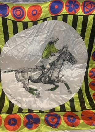 Шелковый платок polo club