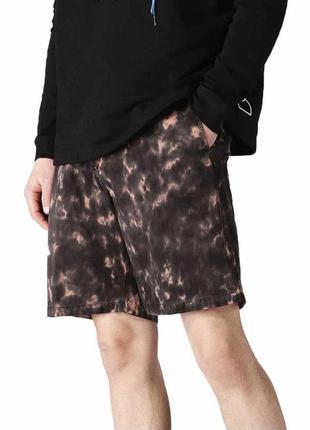 Diesel шорты оригинал tie dye стильные легкие коттон