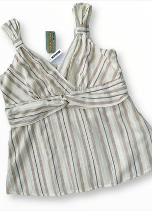 Классная блузка из натуральной ткани george