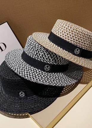 Шляпы канотье