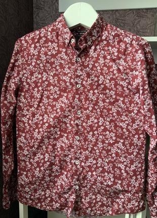 Рубашка с принтом f&f, m