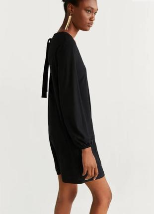 Платье mango с завязкой на спине