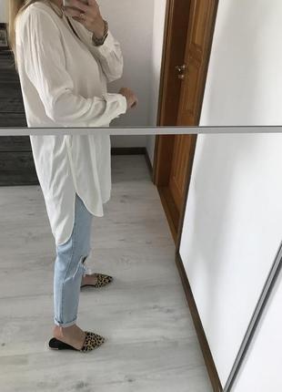 Платье рубашка, туника, натуральный шёлк, прямой крой