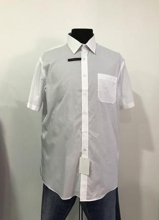 Рубашка xl 43/44 c&a regular fit