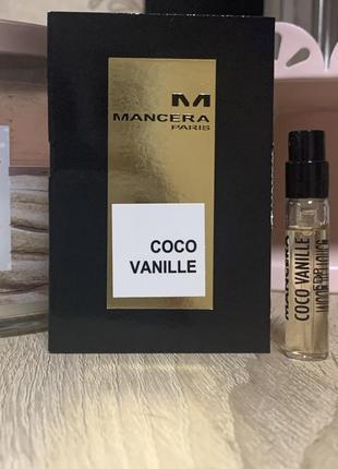 Пробник mancera coco vanille 2 мл