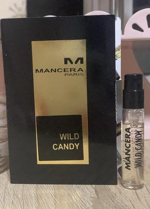 Пробник mancera wild candy 2 мл