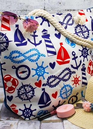 "Пляжная сумка ""deep sea"" 37*49*16"