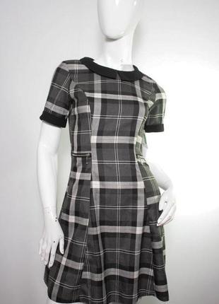 Стильное платье в чёрно-белую клетку atmosphere, плаття, сарафан,