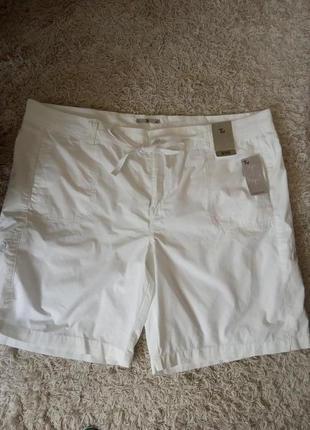 Натуральные легкие шорты, на лето, хлопок