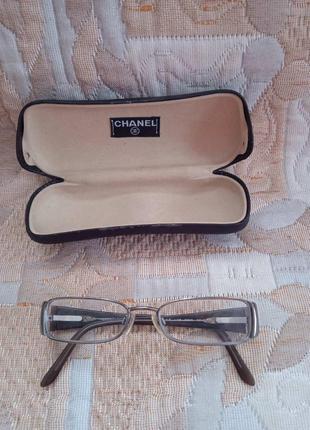 Chanel 2118 c.108 gunmetal olive прямоугольные очки 50-16 135