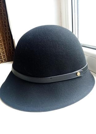 Шерстяная шляпка h&m