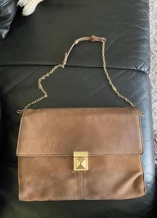 Стильная сумка кожаная натуральная кожа скидки недорого модная