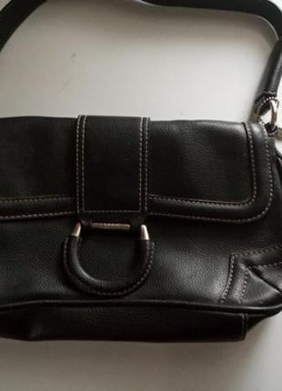 Винтажная сумка багет