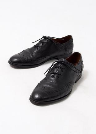 Шкіряні туфлі lido marinozzi італія
