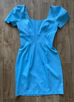 Платье голубое must have 36 размер