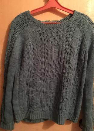 Тёплый свитер pull&bear
