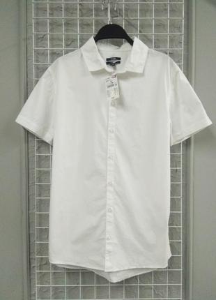 Белая рубашка kiabi