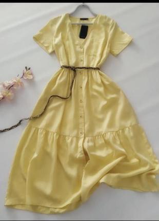 Красивое летнее платье reserved
