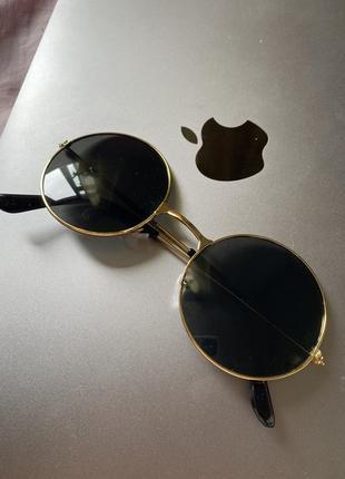 Очки солнцезащитные лепсы круглые стильные модные