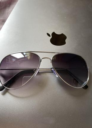 Очки солнцезащитные капельки зеркальные