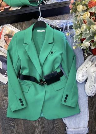 Женский пиджак габардин