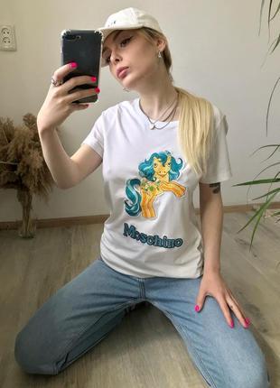 Футболка moschino pony