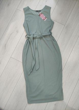 Плаття сарафан boohoo