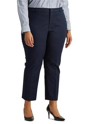 Укороченные брюки со стрелками р. 58