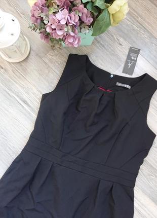Женский сарафан офис стиль платье большой размер батал р.48/50/522 фото