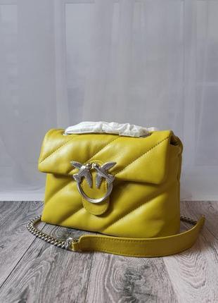 Женская кожаная сумочка пинко - pinko puff
