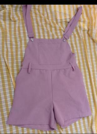 Комбінезон комбинезон розовый шорты