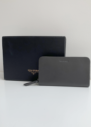 Royal republiq galax miniature wallet r.g. кожаный кошелек роял репаблик