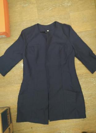 Пиджак-накидка, новый,без пуговиц