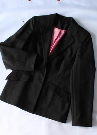 Черный пиджак nl collection