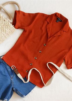 Блуза яркого цвета new look