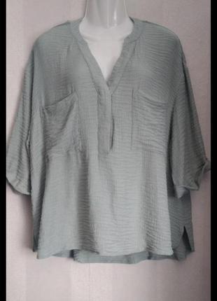 Блуза с натуральным составом
