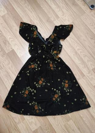 Шикарне натуральне бархатне плаття