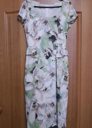 🎁купи и получи скидку 50% на вторую вещь. платье-футляр karen millen англия оригинал  р-р 36(44)