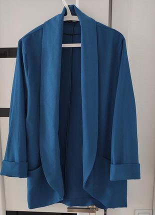 Пиджак без подкладки тонкий