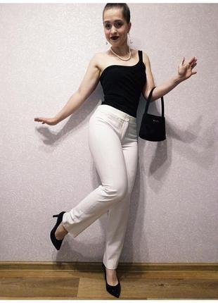 Talbots брюки молочного цвета рост 165 см штаны белые