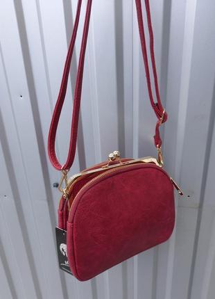 Новая красная сумка италия