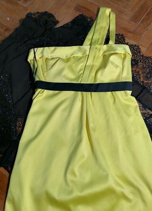 Плаття лимонного кольору