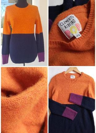 ✅дизайнерский шерстяной свитер, джемпер шерсть, лондонский дом моды clements ribeiro