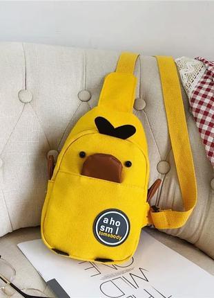 Стильная поясная сумка бананка