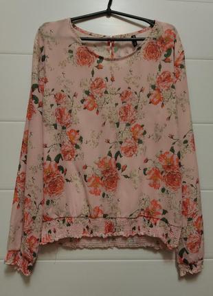 Летняя блуза с принтом р. лм турция