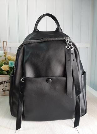 Качественный рюкзак из кожзама