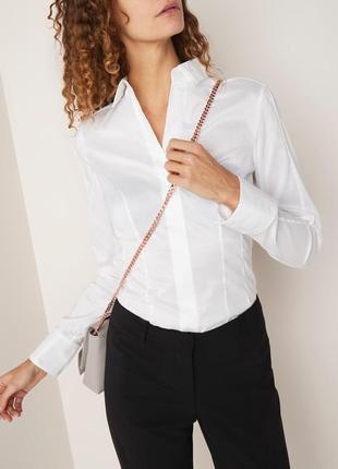 Деловая классическая рубашка bashina 4
