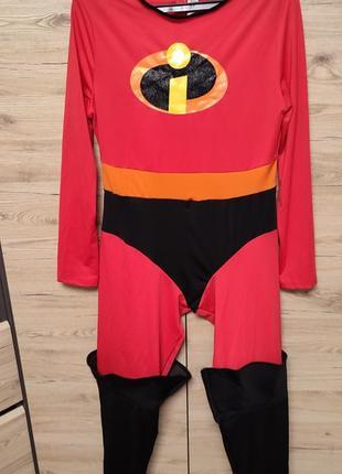 Женский костюм аниматора супермама из суперсемейка, l
