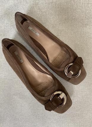 Дышащие туфли балетки geox respira оригинал