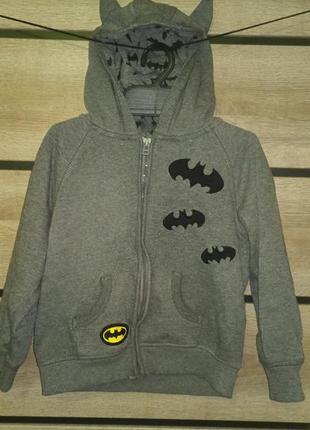 Кофта на молнии бэтмен